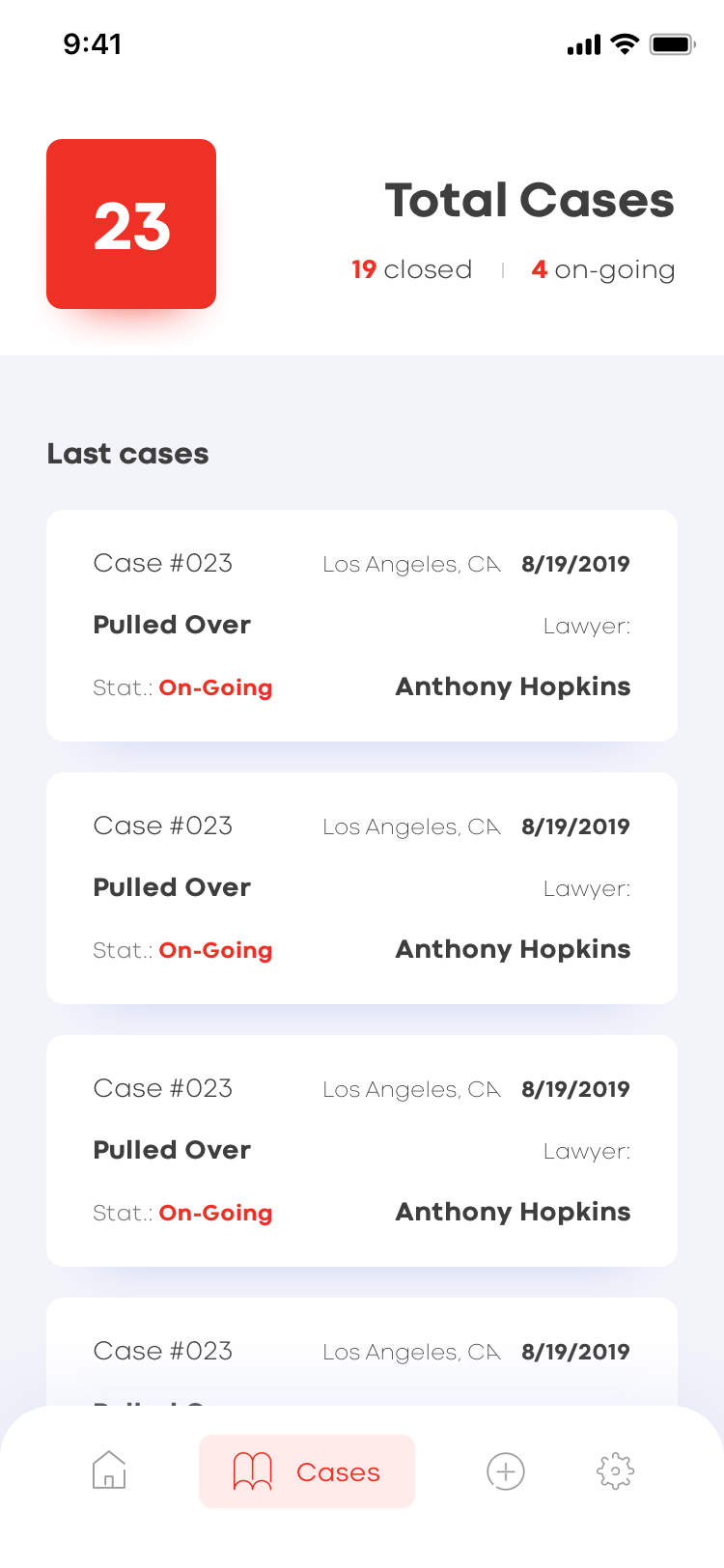 ABILITY TO REVIEW CASE LOG HISTORY